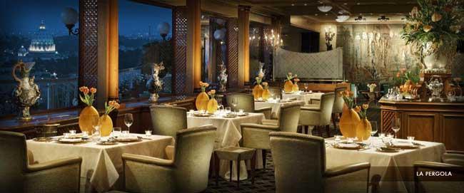 מסעדה עם כוכבי מישלן - רומא